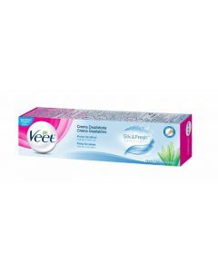 Crema depilatoria para piel sensible veet 200 ml