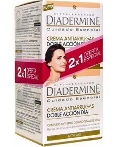 Crema antiarrugas diadermine pack de 2 unidades de 50ml