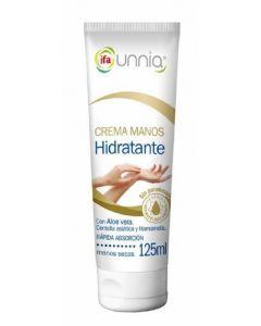 Crema de manos con aloe vera ifa unnia 125ml