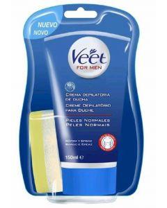 Crema depilatoria masculina bajo la ducha veet 150ml