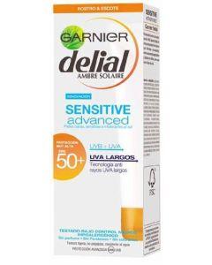 Protector solar facial fp 50+ protección alta delial 50 ml