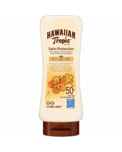 Bronceador satin protection f50 hawaiian tropic 180ml