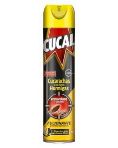 Insecticida cucarachas cucal aerosol 400ml