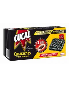 Insecticida trampa doble cebo cucal 3 ud
