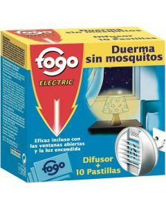 Insecticida electrico fogo aparato + recambio 10 pastillas