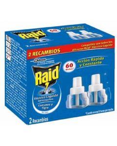 Insecticida electrico raid 60 noches