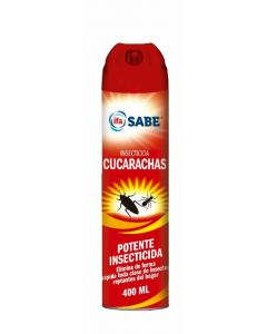 Insecticida cucarachas ifa sabe aerosol 400ml