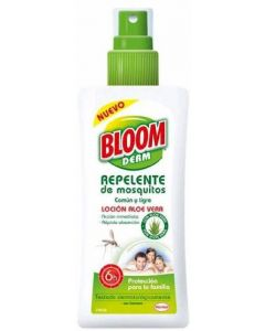 Repelente para mosquitos en loción bloom 100ml