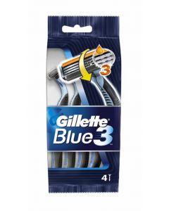 Maquinilla  afeitar blue3 gillette 4+1 ud