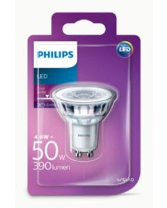 Bombilla led dicroico color neutro philips gu10 50w