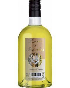 Licor de hierbas cruz conde botella de 70cl