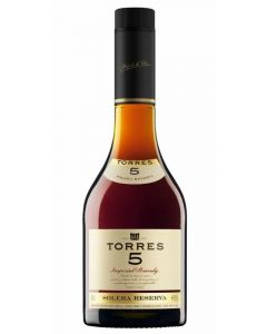 Brandy 5 años torres botella 70cl