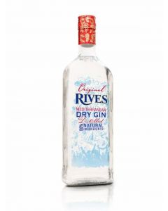 Ginebra rives botella de 1l