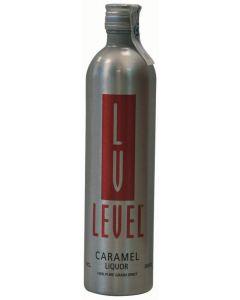 Vodka caramelo  level botella de 70cl