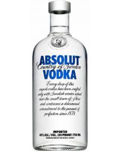 Vodka absolut botella de 70cl