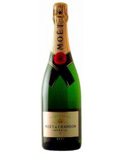 Champagne brut moët null botella 75cl