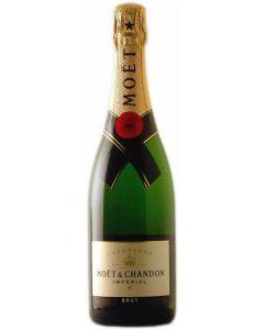 Champagne brut moët null botella 37,5cl