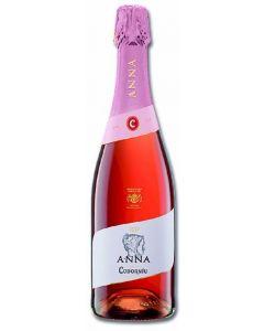 Cava brut rosado codorniu anna botella de 75cl