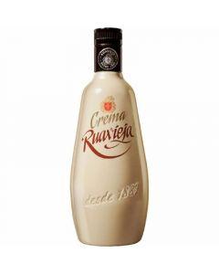 Licor crema de orujo  ruavieja botella de 70cl