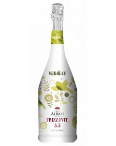 Vino frizzante verdejo viña albali botella de 75cl