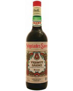 Vermouth rojo maelquiades saenz 1l