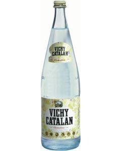 Agua mineral c/gas  vichy catalan bot 1l