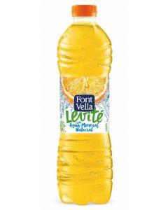 Agua refrescante levite sabor manzana font vella 1,25l