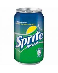 Refresco fresh lima-limon sprite lata 33cl