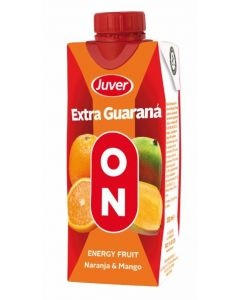 Bebida fruta ener guarana on juver brick 33cl