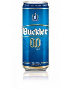Cerveza sin alcohol 0,0%  buckler lata 33cl