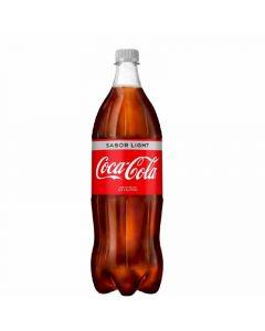 Refresco cola light coca-cola pet 1,25 l