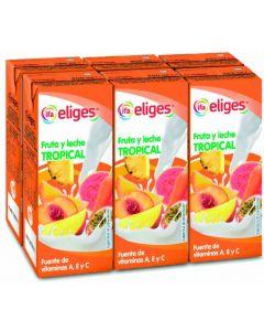 Bebida fr/lech tropical ifa eliges p-6 20cl