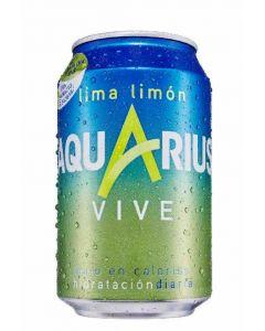 Bebida isot. vive lima aquarius lata 33cl