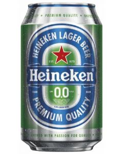 Cerveza sin alcohol 0,0% heineken lata 33cl