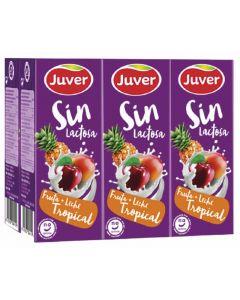 Bebida fr/lech s/lacto tropical juver p6 20cl