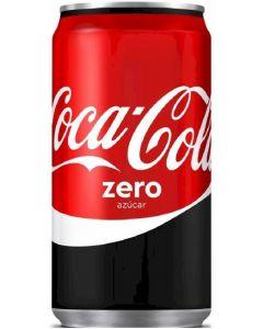 Refresco zero cola coca cola  lata 25cl