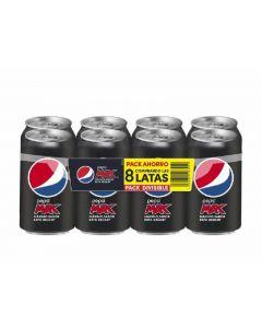 Refresco max cola pepsi lata p-8  33cl