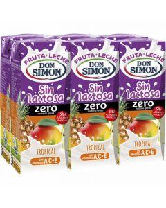Bebida s/lact func tropical don simon p6x200ml