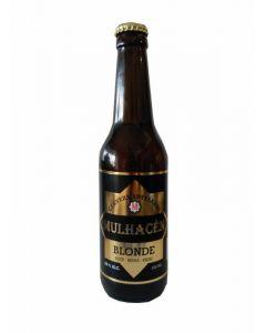 Cerveza artesanal blonde mulhacen bot 33cl