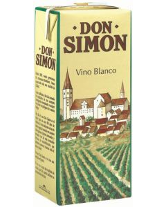 Vino mesa blanco don simon 1l