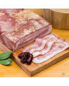 Bacon ahumado el pozo al corte