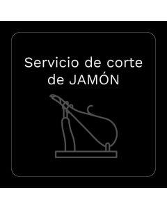 Servicio corte de jamon