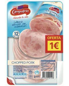 Chopped pork campofrio lonchas 130g