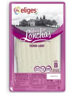 Queso tierno light ifa eliges lonchas 150gr