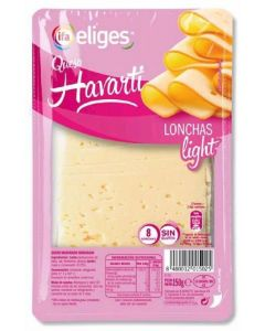 Queso havarti light ifa eliges lonchas 150gr