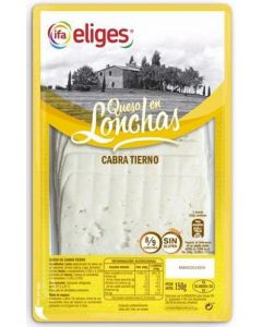 Queso cabra ifa eliges lonchas 150gr