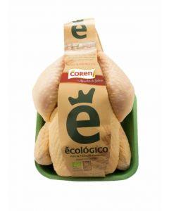 Pollo ecológico bandeja 1,5kg aprox.