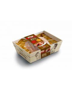 Redondo de pavo relleno de datil bacon y anacardos 1 a 1,4 kg aprox.