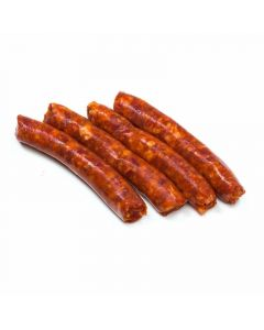 Salchichas de cerdo rojas