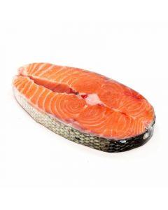 salmón rodaja granel